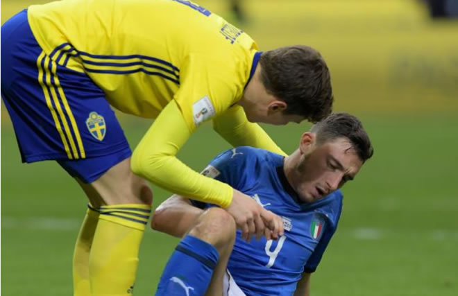 Italy fails to qualify for 2018 World Cup after drawing with Sweden