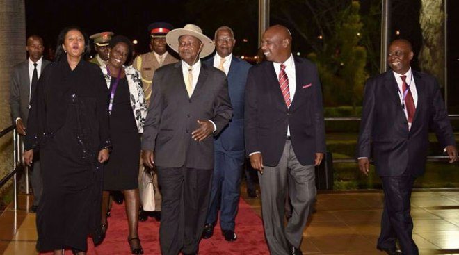 4 Heads of State already in the country for President Kenyatta's inauguration