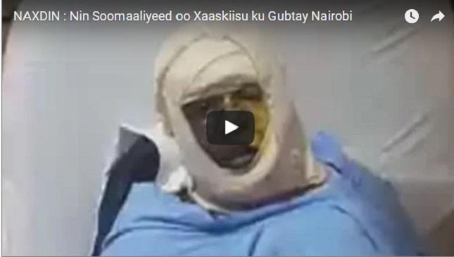 Daawo Nin Soomaliyeed oo Xaaskiisu ku gubtay Nairobi oo lagu sheegay inuu Dhintay, oo Xaaladiisa ka Warbixiyey.