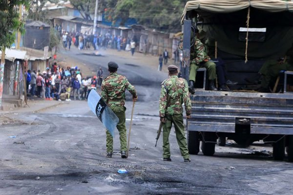 KENYA: Police killed over 33 during demo — Amnesty International and HRW