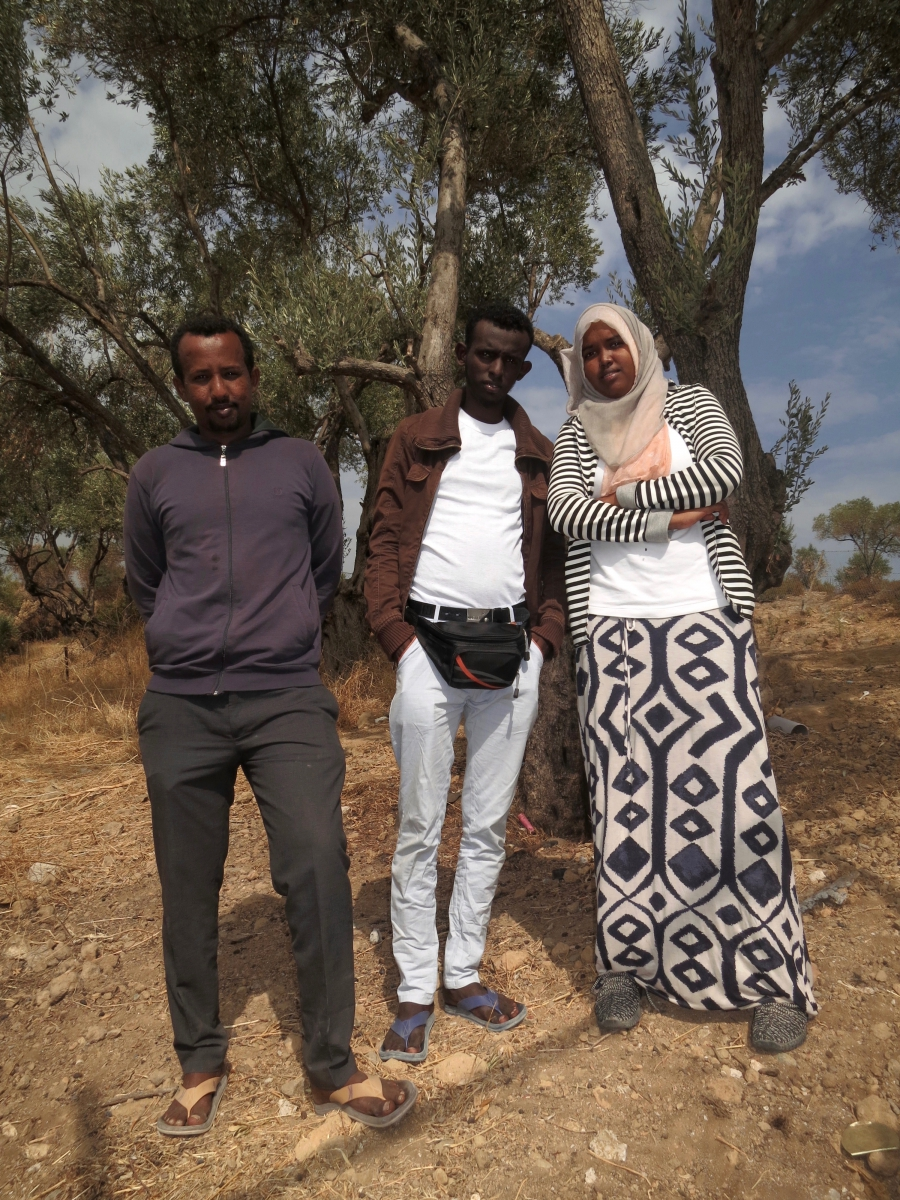 Somali journalists on Lesbos hope for the best — asylum in Europe