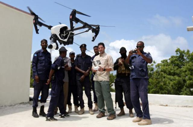 Exclusive: Somali police get first drones to combat Islamist bombings