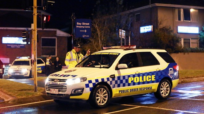 Officers arrest man accused Melbourne New Year's attack