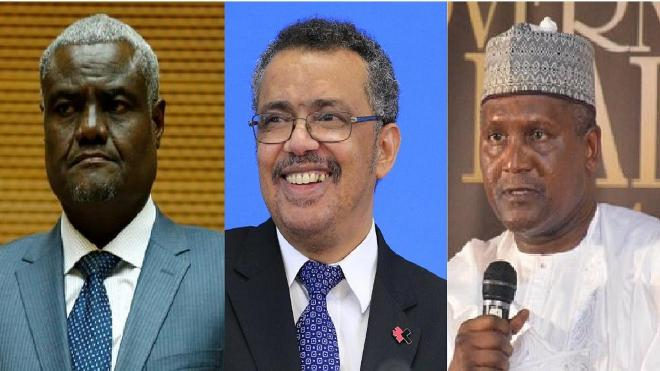 Ethiopia's Tedros gets Dangote, AU chief's final backing for WHO DG post