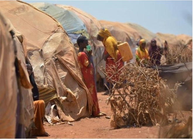 Fleeing hunger, Somali women raped in displacement camps