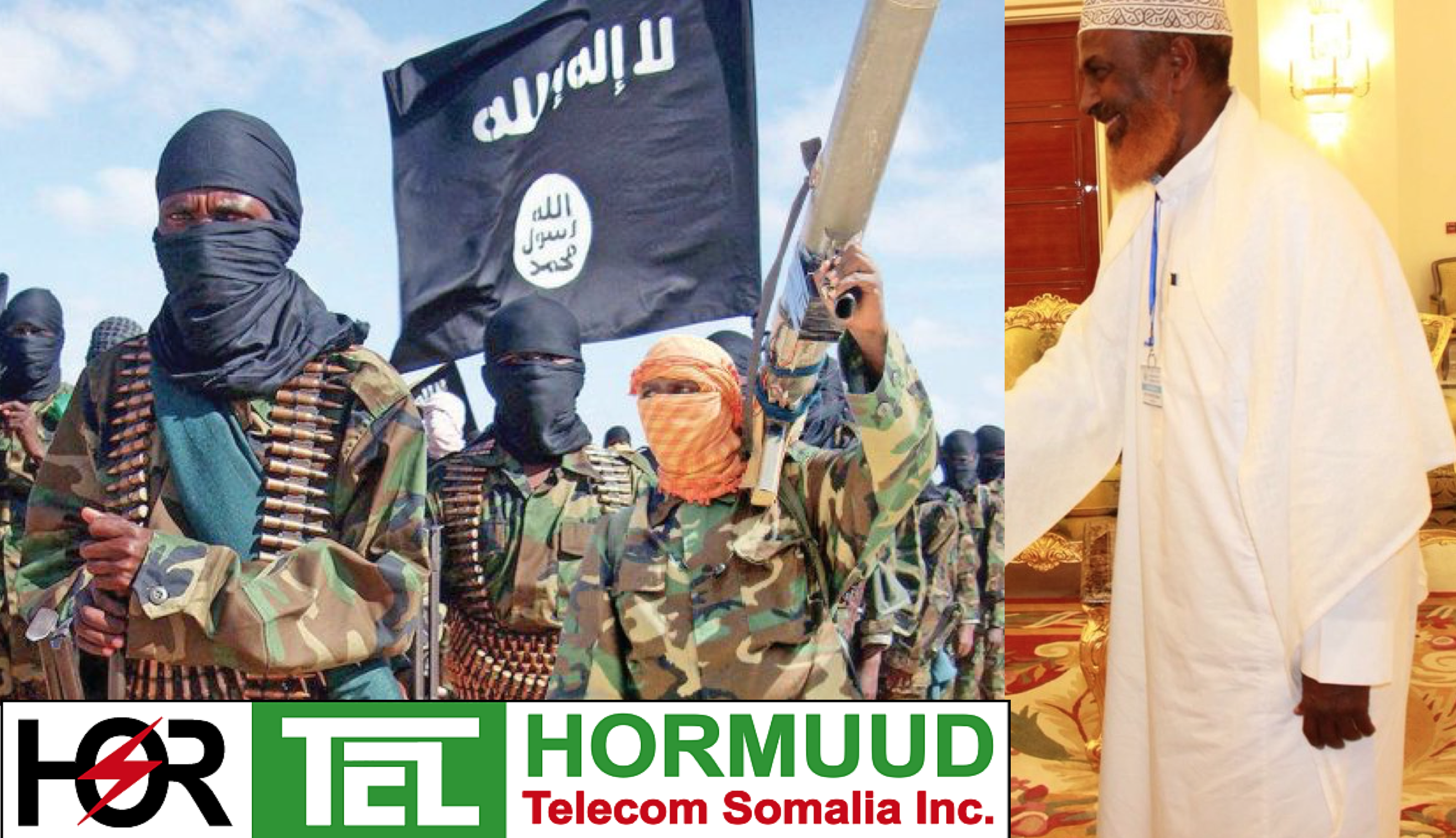 "Somalia:Ahmed Nur Ali Jim'ale, Al-Shabaab's chief financier But the Hormuud Telecom carries the public stigma of being ""one of the single largest financiers of Al-Shabaab"