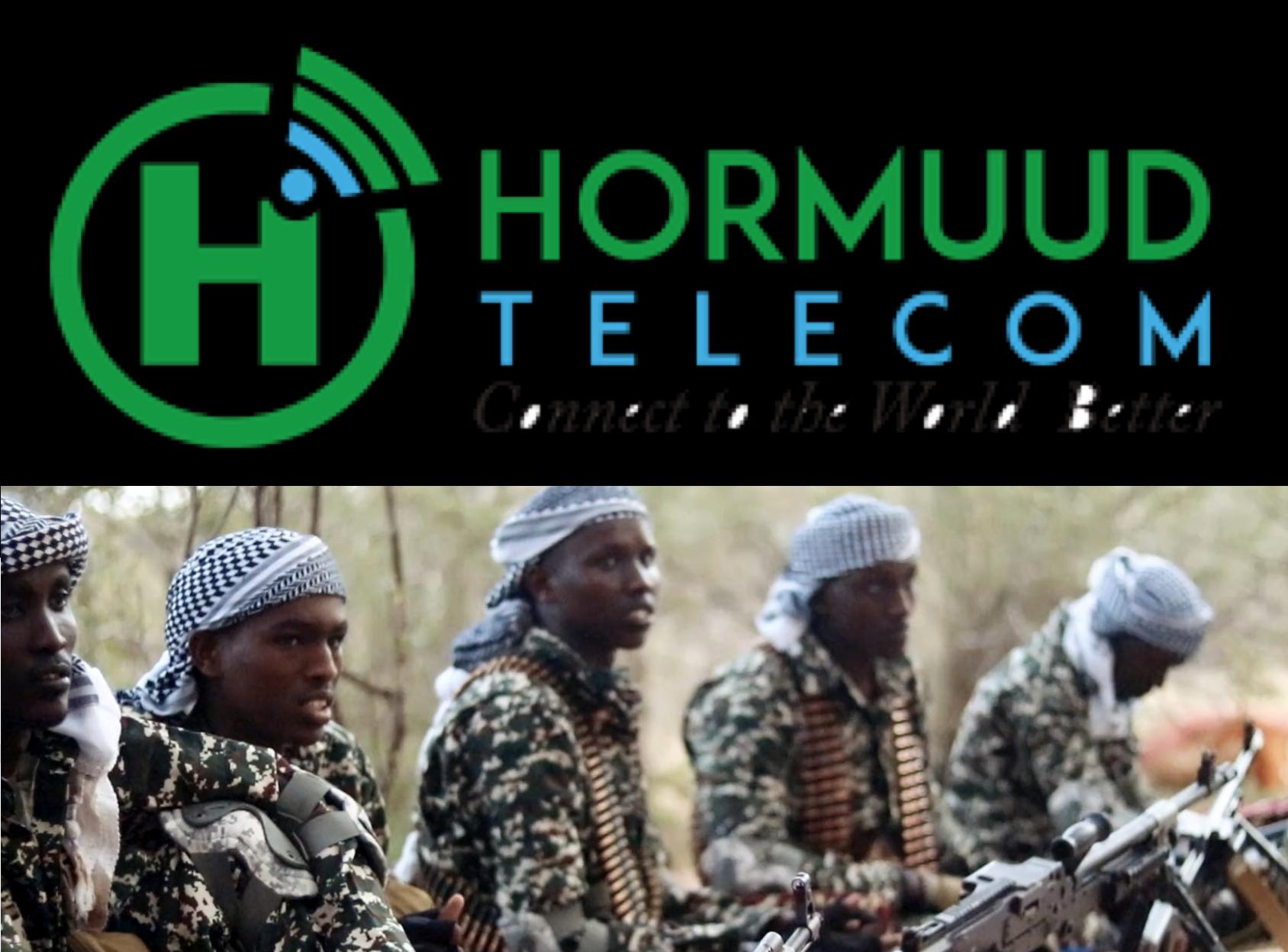 Hormuud Telecom company is on the list of companies remitting huge taxes to Al-Shabaab